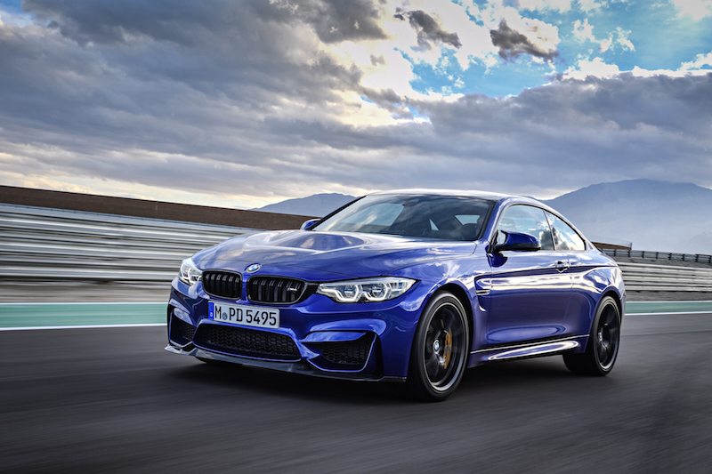 2018 BMW M4 CS driving
