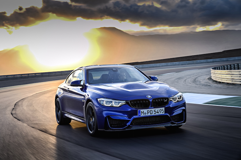2018 BMW M4 CS front view