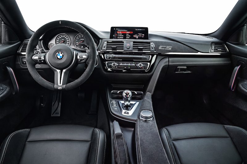 2018 BMW M4 CS interior