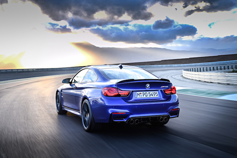 2018 BMW M4 CS blue