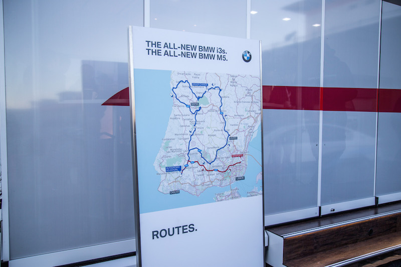 bmw m5 launch lisbon driving routes