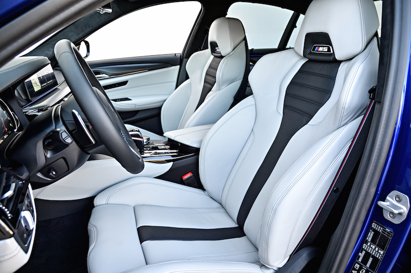 2018 BMW M5 F90 new seats