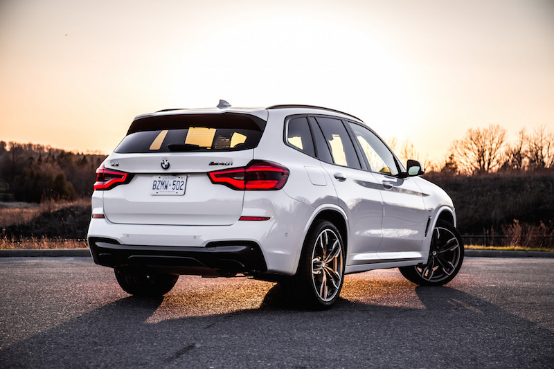 2018 BMW X3 M40i new used