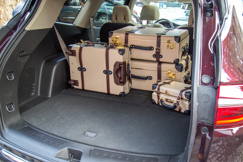 2018 Buick Enclave Avenir trunk space luggage