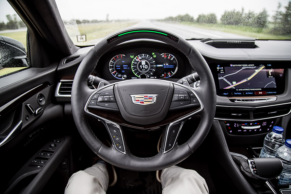 cadillac super cruise on ct6 review