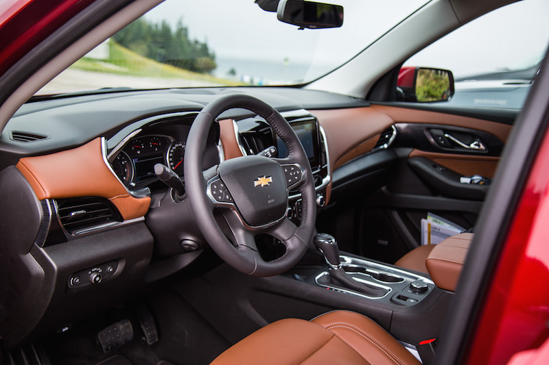 2018 Chevrolet Traverse high country interior