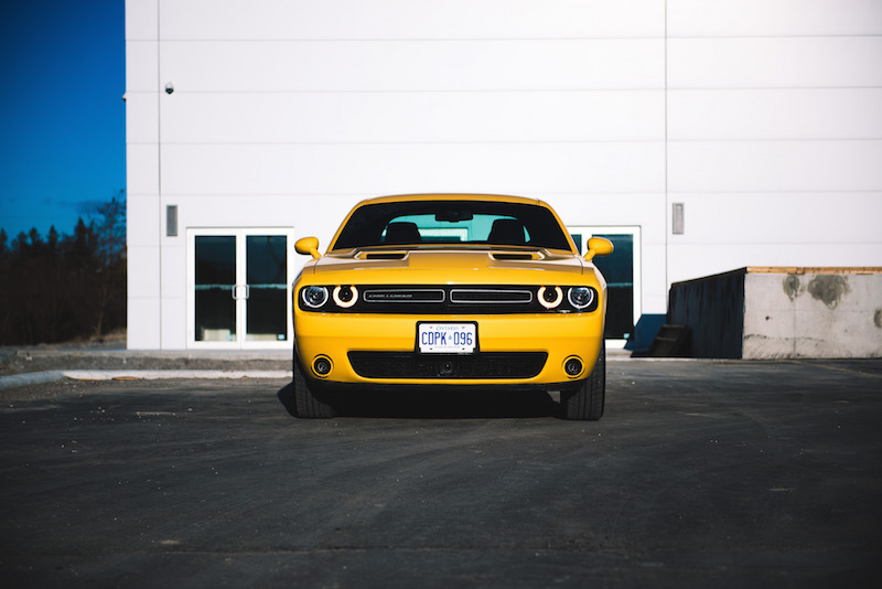 2018 Dodge Challenger GT yellow jacket