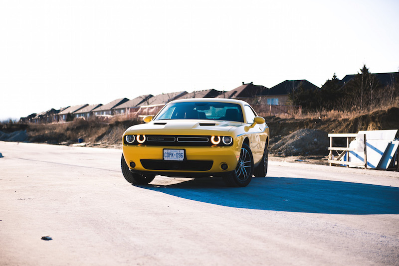 2018 Dodge Challenger GT yellow paint canada