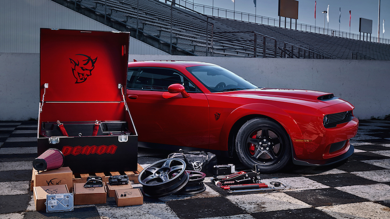 2018 Dodge Challenger SRT Demon crate