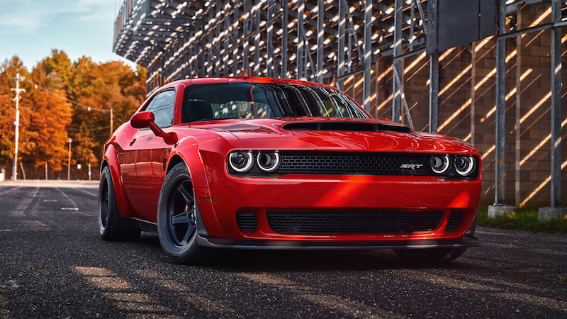 2018 Dodge Challenger SRT Demon red paint