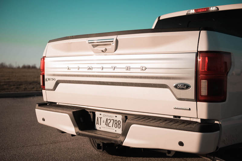 2018 Ford F-150 Limited trunk lift gate badge