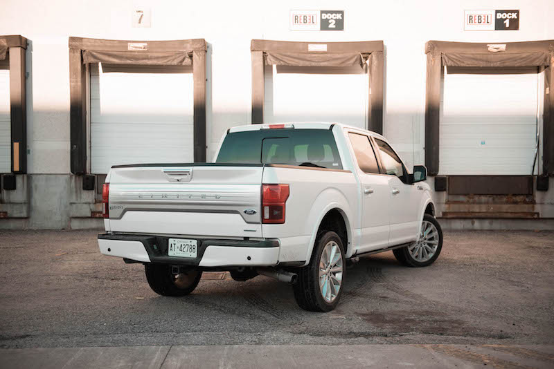 2018 Ford F-150 Limited white