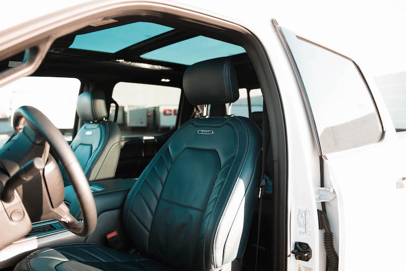 2018 Ford F-150 Limited navy pier blue