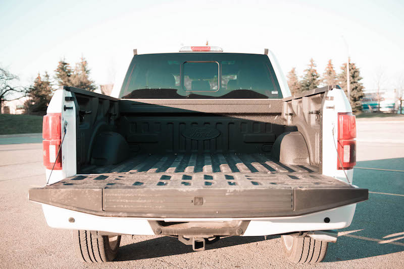 2018 Ford F-150 Limited bed