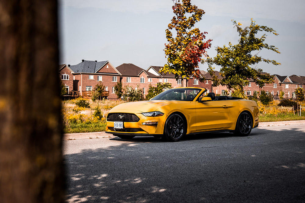 ford mustang ecoboost 2018 convertible review
