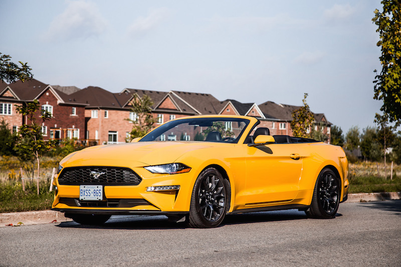 Review: 2018 Ford Mustang EcoBoost Convertible   CAR