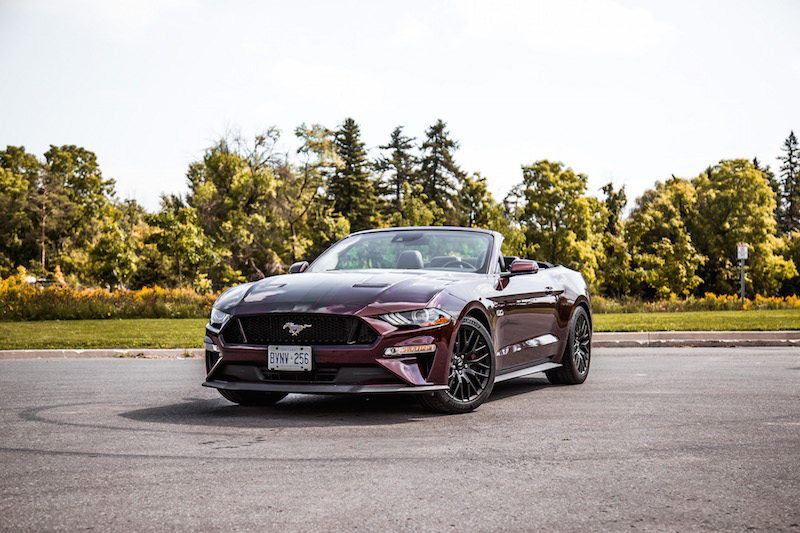 2018 Ford Mustang GT Convertible Performance Package