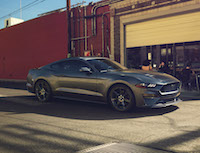 2018 Ford Mustang dark gray performance package