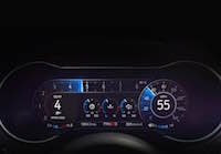 2018 Ford Mustang new instrument cluster all digital