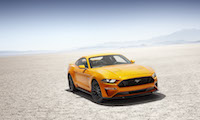 2018 Ford Mustang orange fury