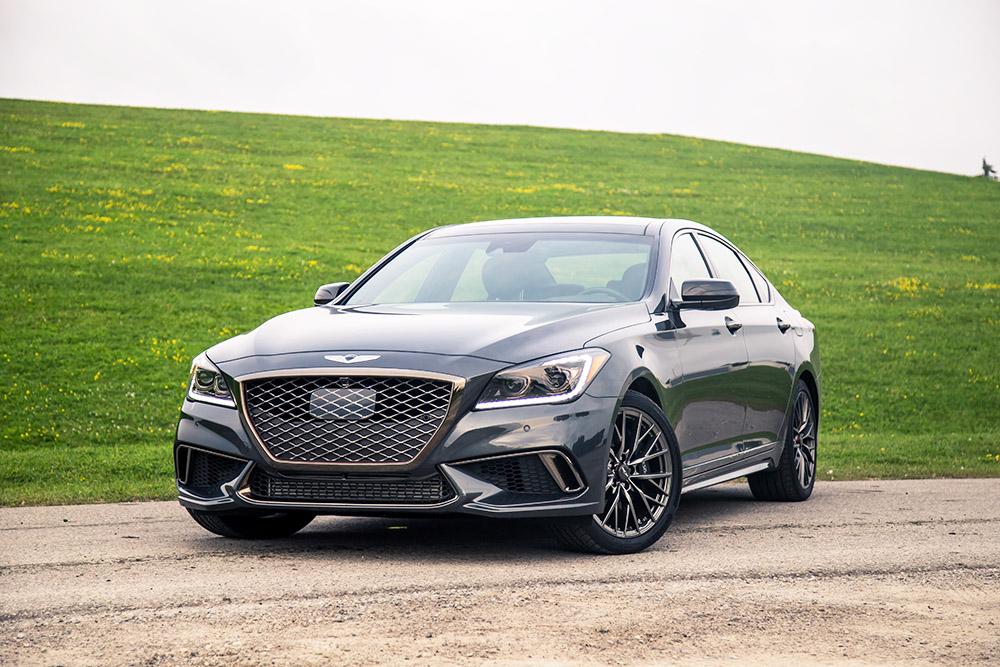 2018 Genesis G80 Sport canada review