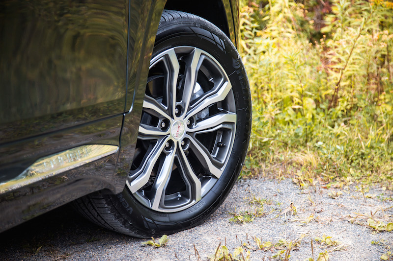 2018 GMC Terrain denali wheels