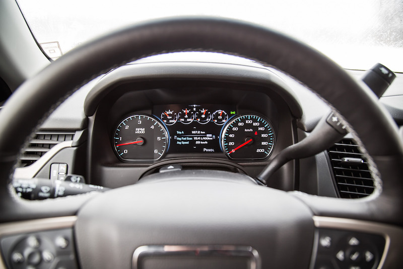 2018 GMC Yukon XL Denali digital gauges