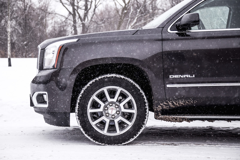 2018 GMC Yukon XL Denali 20 inch winter tire wheels