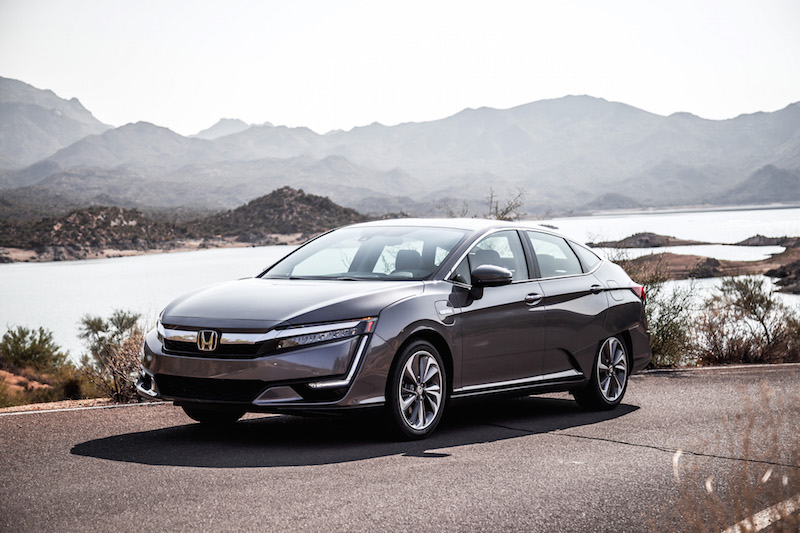 2018 Honda Clarity PHEV grey paint