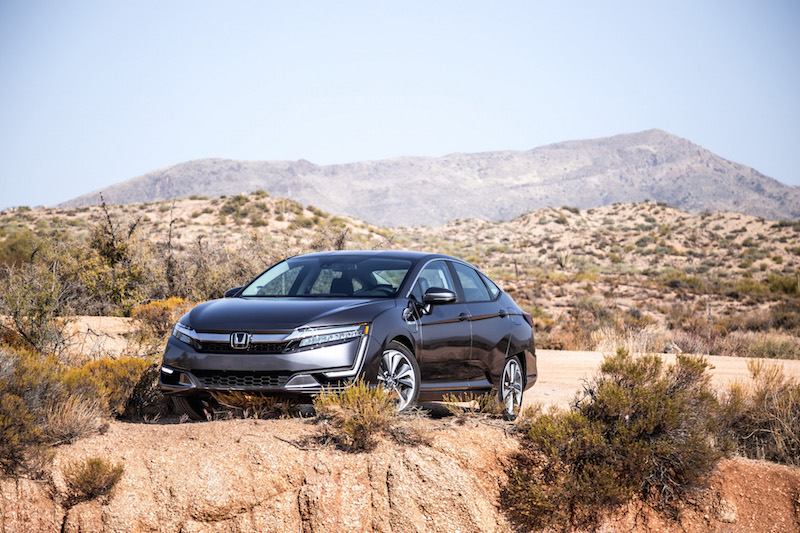 2018 Honda Clarity PHEV arizona mountain landscapes