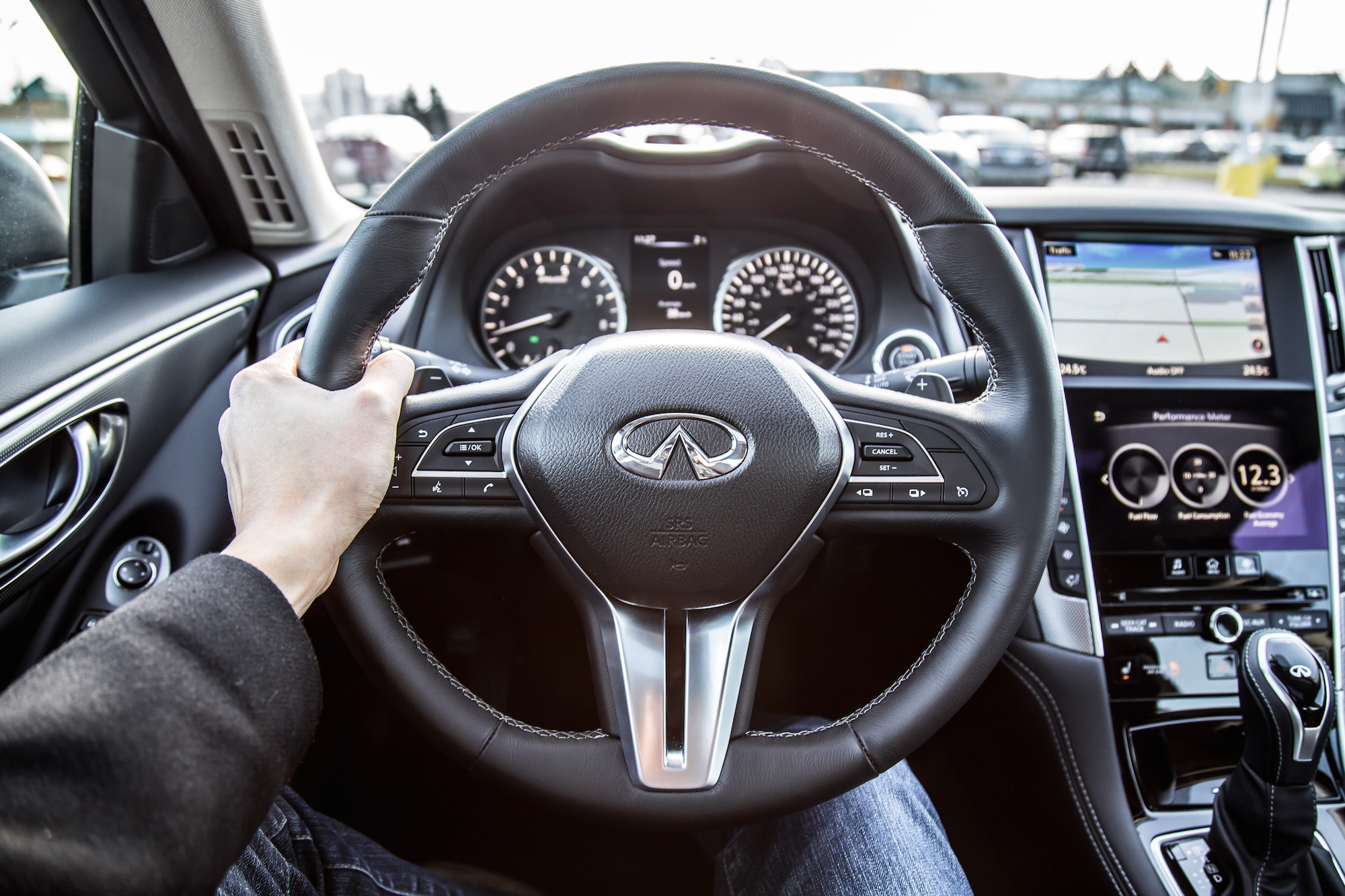Front Wheel Drive Cars >> 2018 Infiniti Q50 3.0t Sport AWD Review | Canadian Auto Review