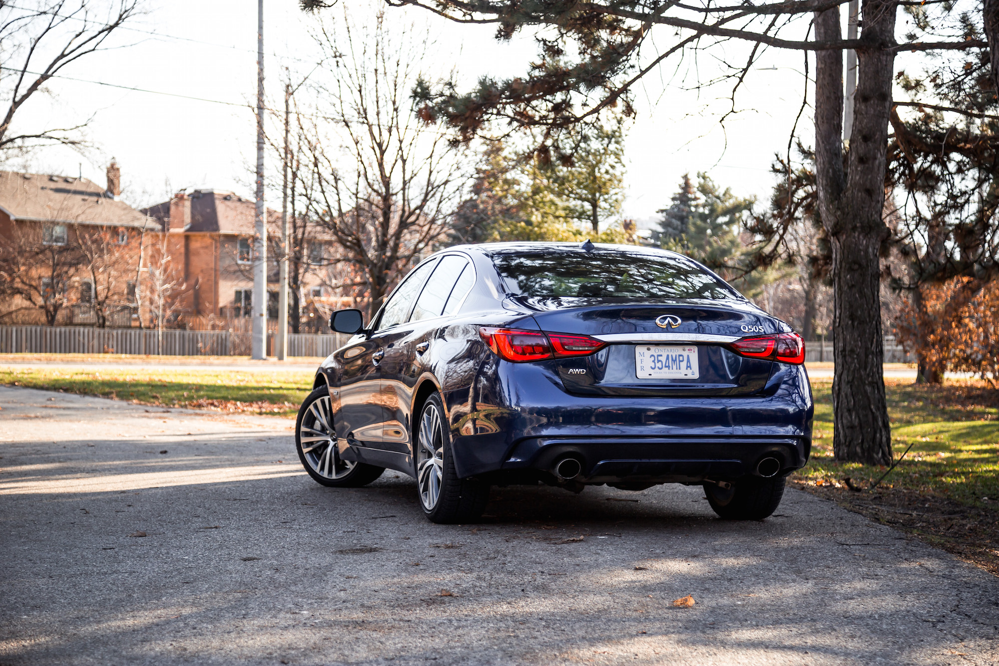 2018 Infiniti Q50 30t Sport AWD Review Canadian Auto Review