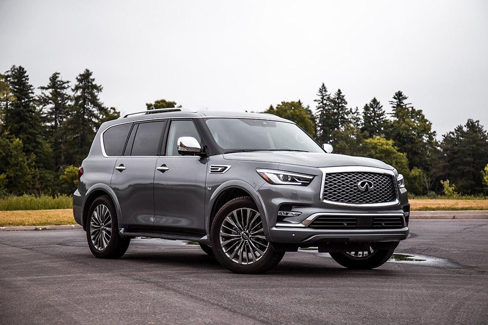 2018 Infiniti QX80 canada review new