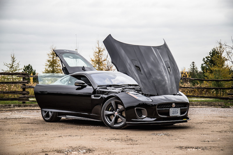 2018 Jaguar F-Type 400 Sport Coupe all doors open