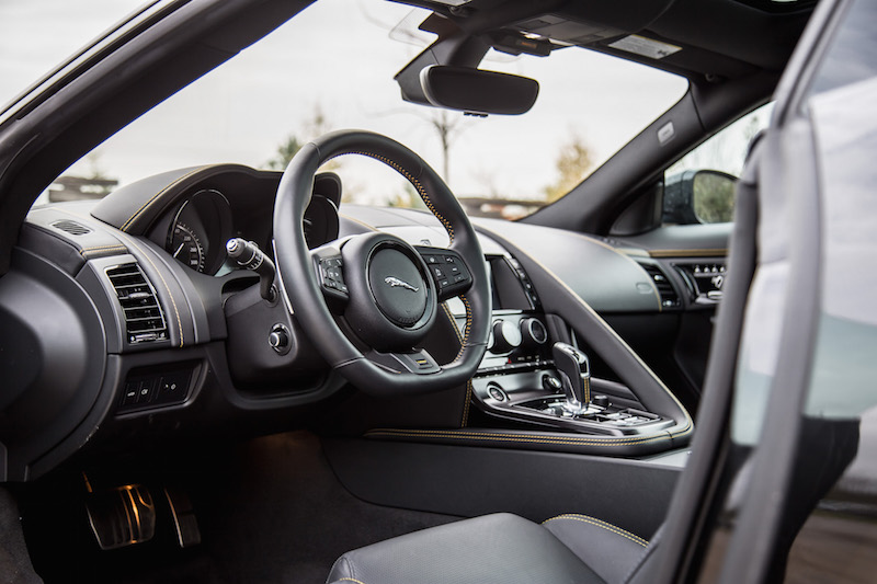 2018 Jaguar F-Type 400 Sport Coupe interior