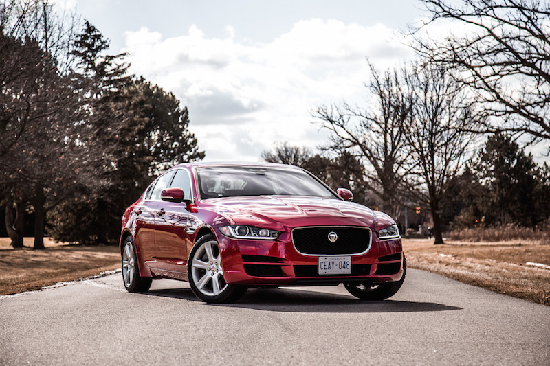 2018 Jaguar XE 20d firenze red