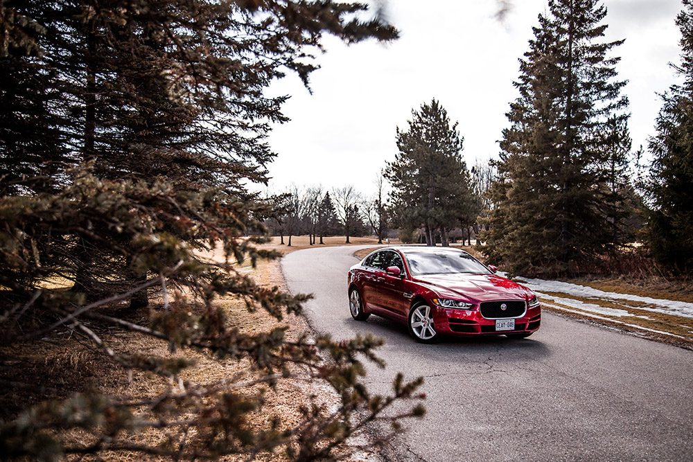 2018 Jaguar XE 20d canada review