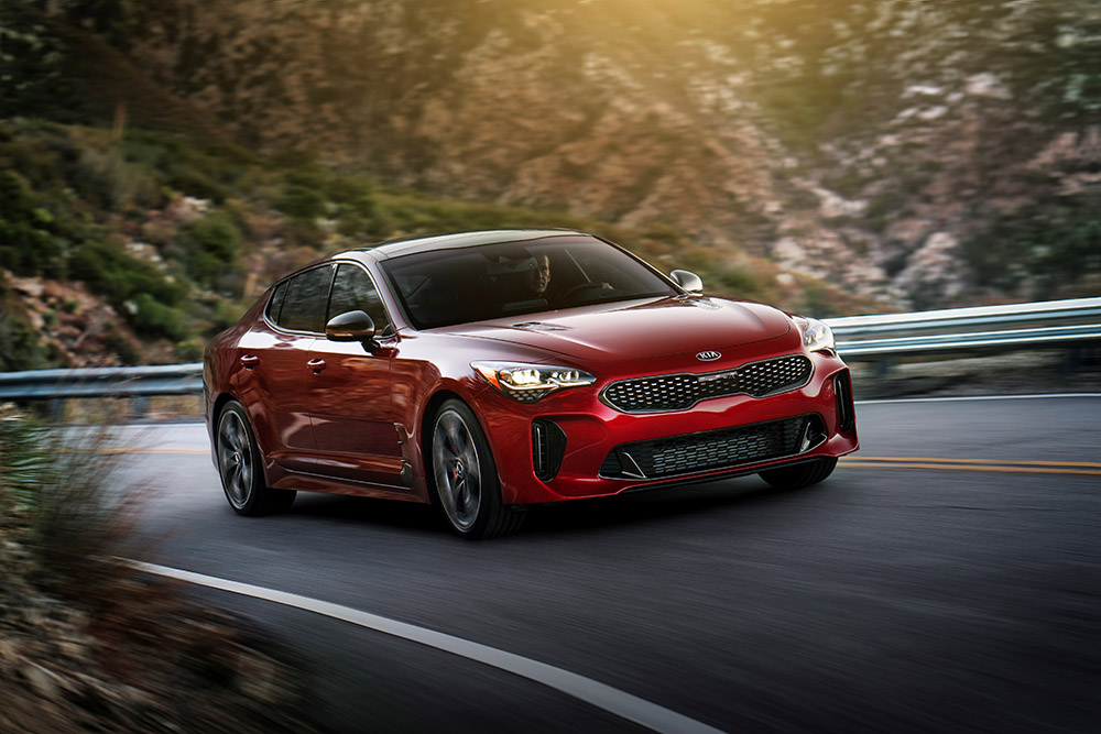 2018 kia stinger sport sedan