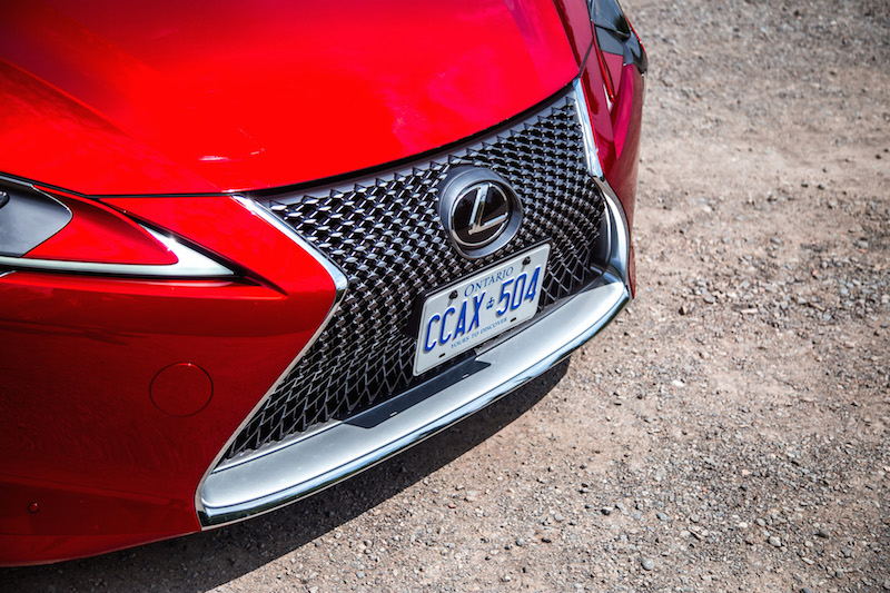 2018 Lexus LC 500 front grill