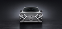 2018 Lexus LS 500 front spindle grill