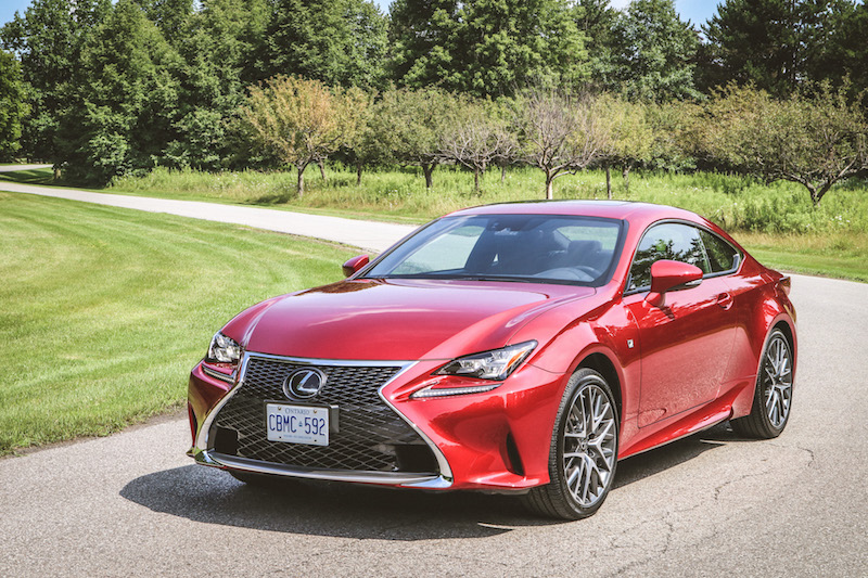 2018 Lexus RC 300 infrared