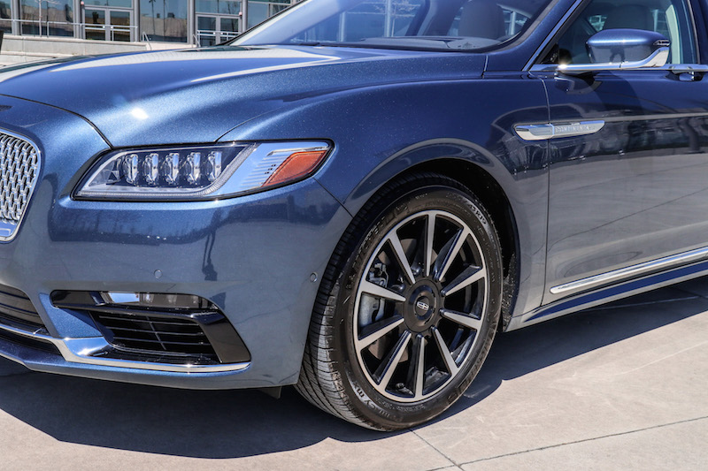2018 Lincoln Continental Reserve AWD wheels