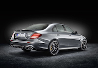 2018 Mercedes-AMG E63 S 4MATIC+ rear quarter