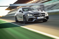 2018 Mercedes-AMG E63 S 4MATIC+ at track