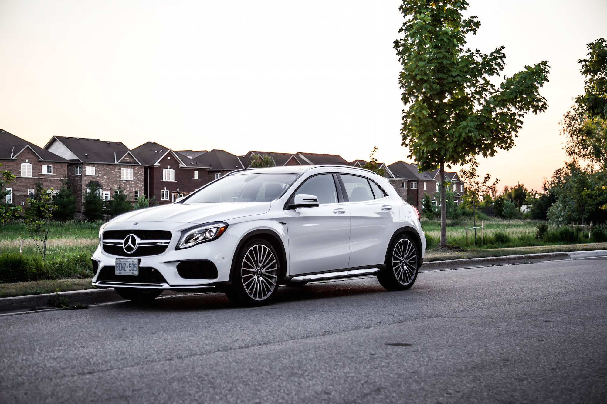 review  mercedes amg gla  matic car