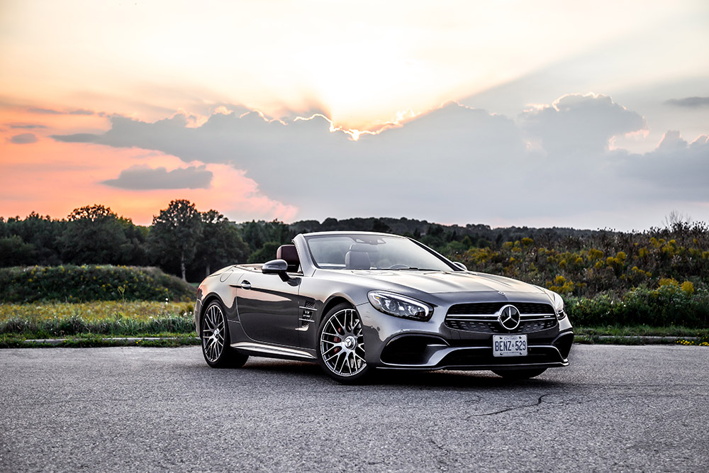 mercedes sl63 amg review