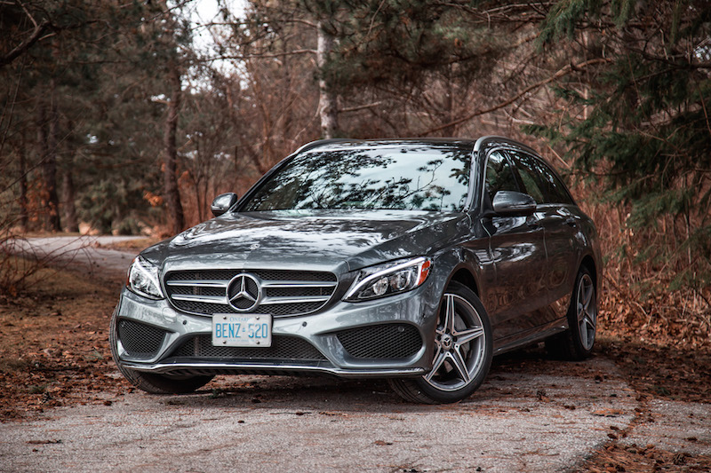2018 Mercedes-Benz C 300 4MATIC Wagon sport package look