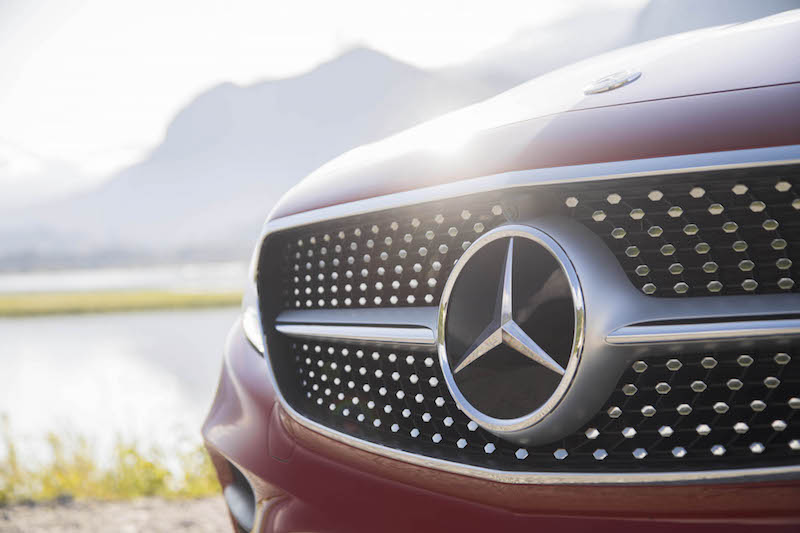 2018 Mercedes-Benz E 400 4MATIC Coupe front grill