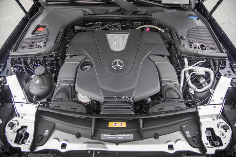 2018 Mercedes-Benz E 400 4MATIC Coupe v6 engine biturbo