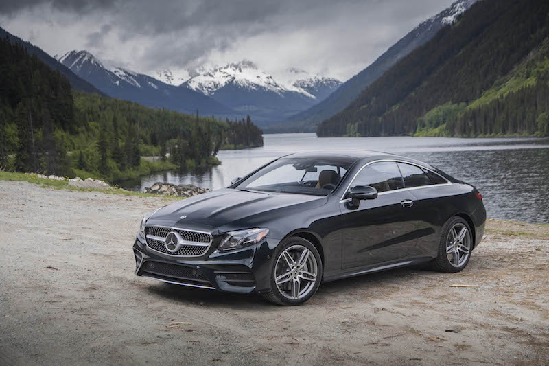 2018 Mercedes-Benz E 400 4MATIC Coupe green
